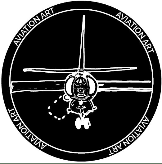 aviationartlogoinverse